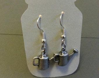 Watering can earrings