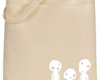 Studio Ghibli Tree Spirit Tote Bag