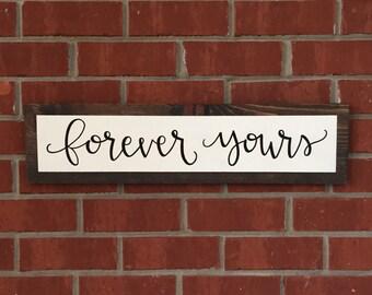 Rustic Home Decor,Rustic Wedding Decor,Wooden Sign,Wood Sign,Wedding Gift,Rustic Wall Decor,Handpainted Signs,Farmhouse Decor,Wedding Signs