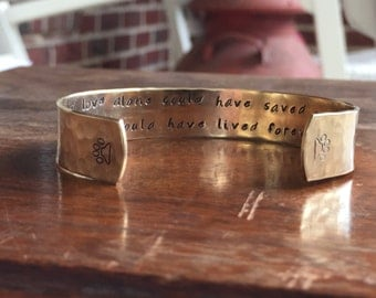 """If love alone could have saved you, you would have lived forever  