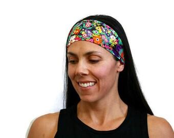 workout headband wide headband floral headband crossfit gear yoga head wrap fitness headband hair accessories spandex headband gym headband