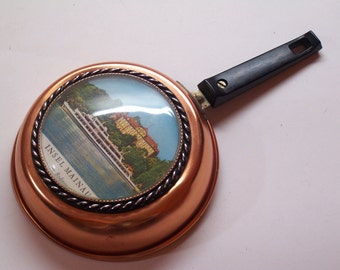 vintage souvenir of Mainau Island in Lake Constance (Bodensee), Germany