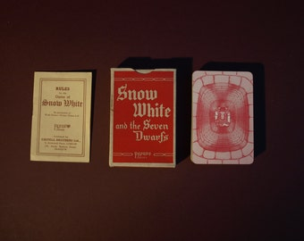Snow White and the 7 Dwarfs Playing Cards