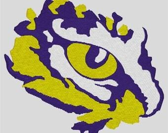 LSU Eye of the Tiger