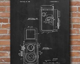 Vintage Camera Patent Print, Vintage Camera Poster, Home Decor, Patent Print - DA0524