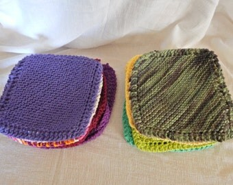 Hand made wash cloths and scrubbies