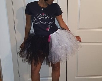 Adult Black and Silver TuTu