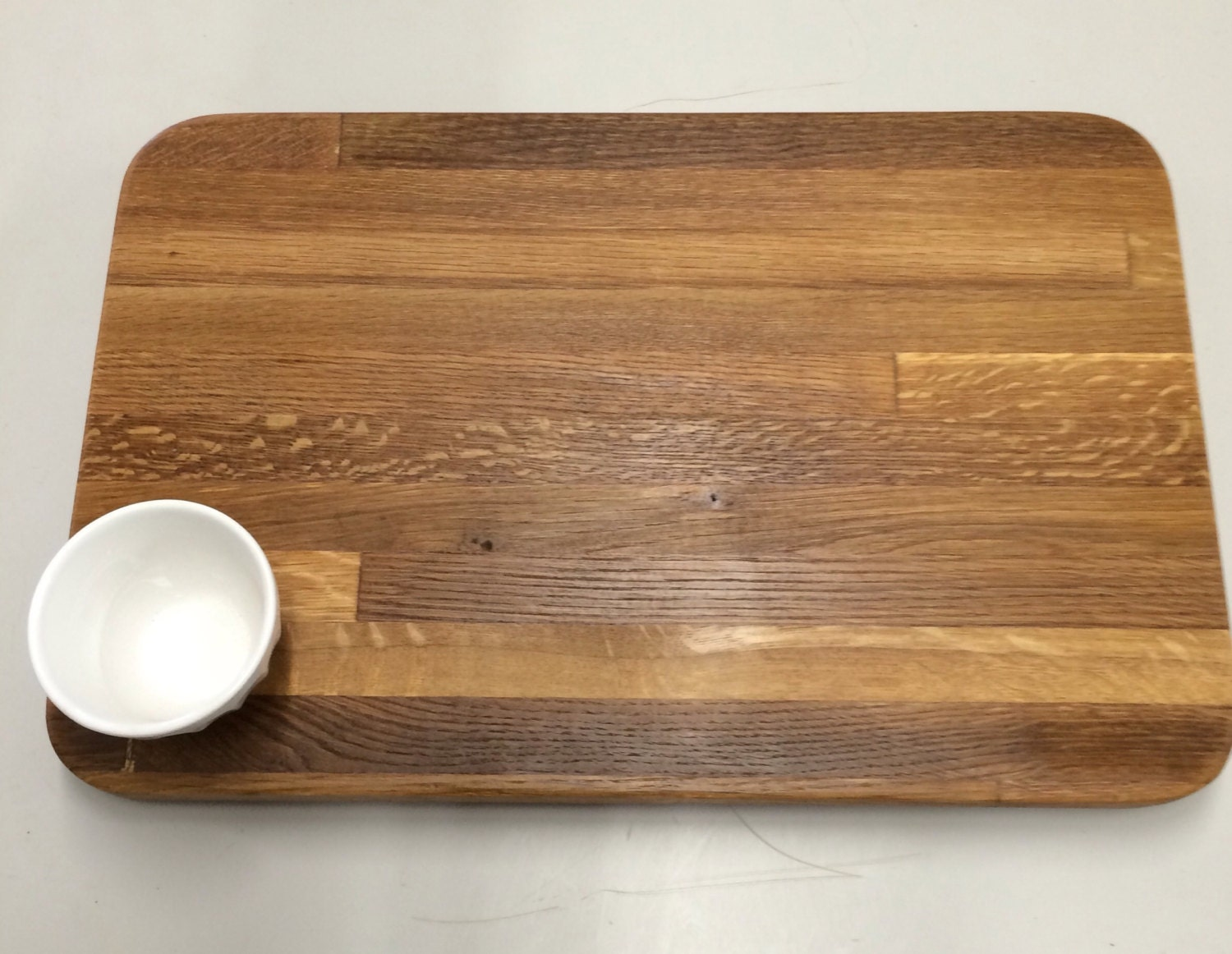Solid Wood Seasoned Cutting Board Bread Board Pizza