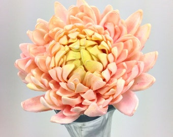 Chrysanthemum Sugar Flower for gumpaste wedding cake toppers