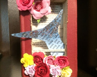 Book Sculpture--Poetry Scene