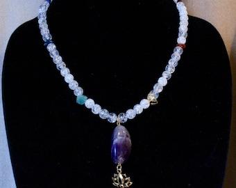 Crystal Chakra Necklace