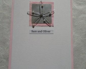 Hand Made Wedding Invitation