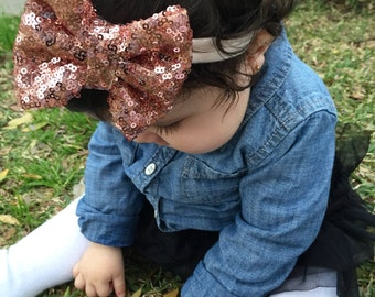 Skinny Sequin Headband
