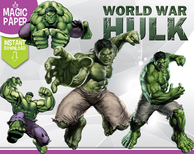 It's just a picture of Smart Incredible Hulk Clipart