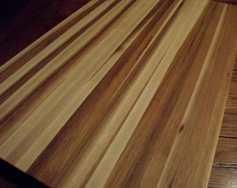 "Thick 1 1/4"" hardwood HICKORY cutting board.  23x29"" Perfect for your own kitchen.  Great gift.  Restaurants love these!"