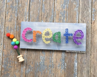 Create String Art Sign, MADE TO ORDER
