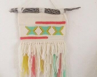 Neon Native Handwoven Wallhanging