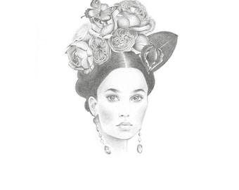 Mexican Princess - Signed 8x10 Art Print
