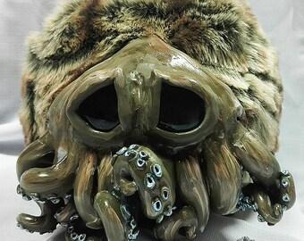 Little round fuzzy octopus