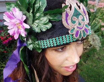 Leafy Rhea Headdress