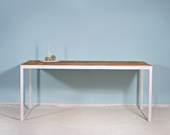 Steel & wood | Table KERKRADE WIT