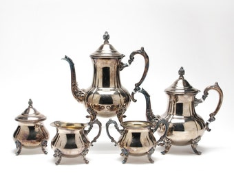 Vintage Towle Silverplate Tea & Coffee Service