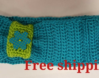 Crochet Headband, Women Headband, Winter Headband, Ear Warmer. Free shipping
