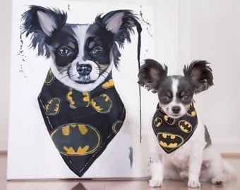 Custom pet portrait, custom pet painting, custom dog portrait, custom dog painting, dog painting custom, pet portrait custom, pet painting