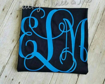 Double Sided Women Monogram T-Shirt