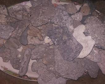 Stones from the Atlantic ocean