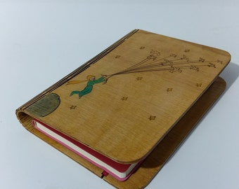 Little Prince Wooden Notepad Holder (Free Shipping & with notepad (gift) !!!)