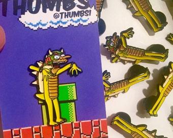 Mr Burns x Bowser Pin Badge