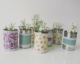 Upcycled Cans