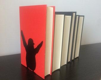 Penguin Bookends - Metal Bookends - Unique Gift - Metal Art - Custom