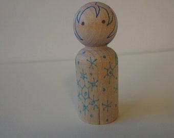 Heart Hug Child Peg Doll: Ian