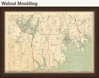 New Bedford Map - 1891
