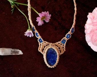 Necklace with Lapis Lazuli