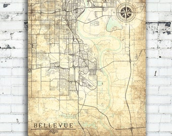 Nebraska Map Art Etsy - City map of nebraska