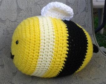 Crochet Honey Bee Pillow/Plushy
