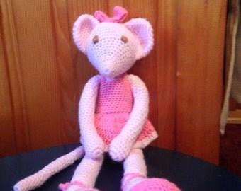 Crochet Angelina Ballerina