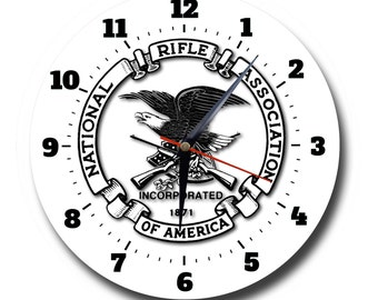 National Rifle Association, Round Metal Wall Clock No.598