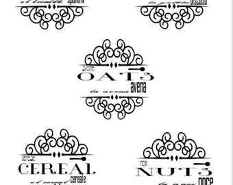 Pantry Label Printable Vol. 1