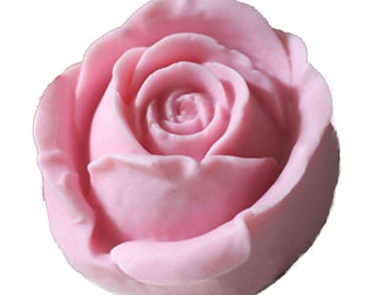 3d rose flower soap mold candle molds silicone clay mold