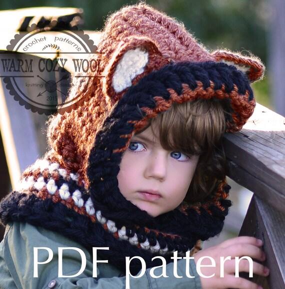 Crochet Fox Hooded Cowl Pattern : free CROCHET PATTERN Fox Hooded cowlBuy 3 Get One