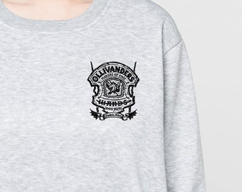 Harry Potter sweatshirt pocket shirts sweater jumper tee long sleeve S M L XL heather grey