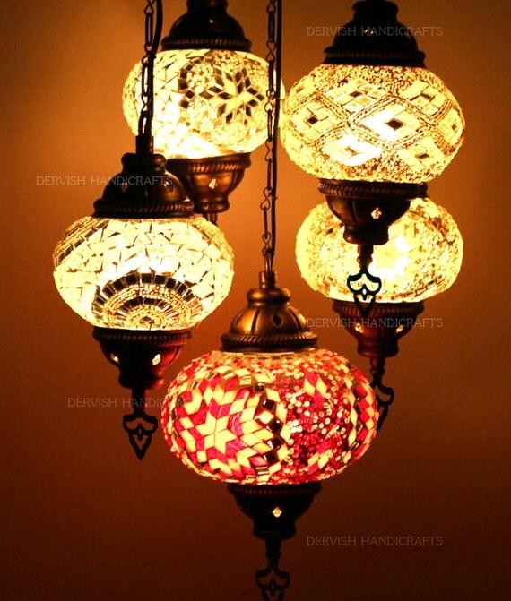 mosaik lampen