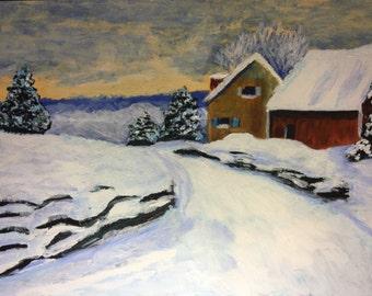 Snowy Home Item# SNOWHOME-001