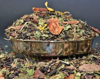 Choco Mint Loose Leaf Tea - Chocolate Tea - Tea - Mint Chocolate Tea - Loose Leaf Tea - Tea - Tea Gift