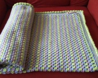 "Baby blanket ""Candystripe"""