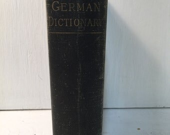 Heath's German Dictionary - VINTAGE